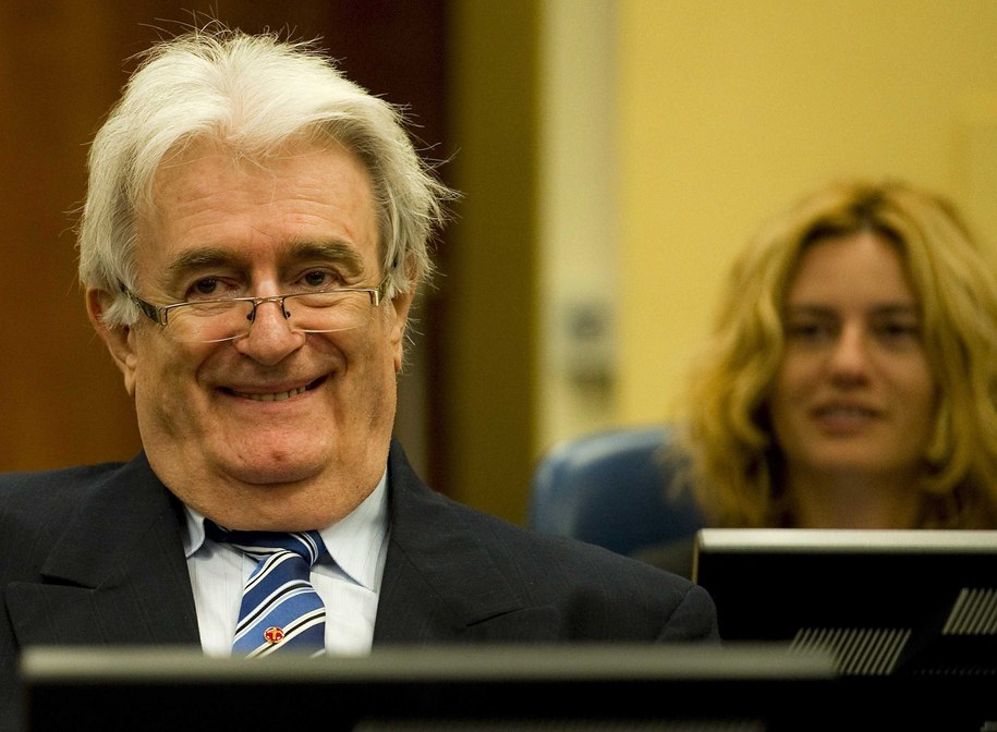 Były przywódca bośniackich Serbów Radovan Karadżić /ROBIN VAN LONKHUIJSEN / POOL /PAP/EPA