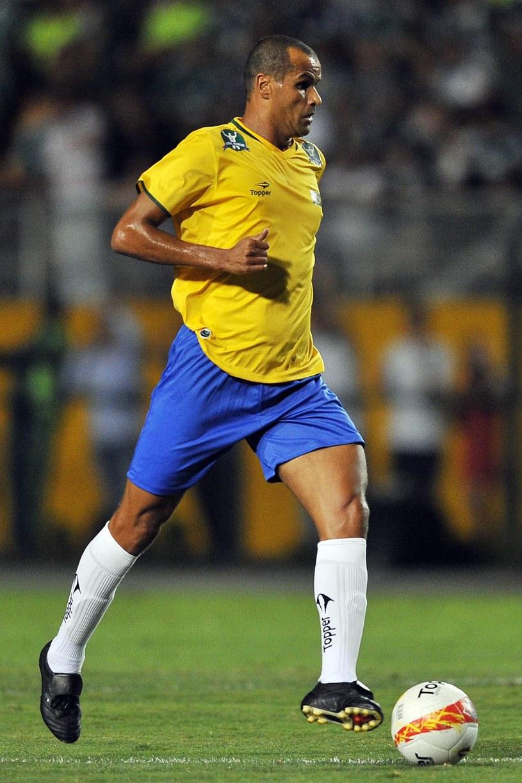 Były reprezentant Brazylii Rivaldo /AFP