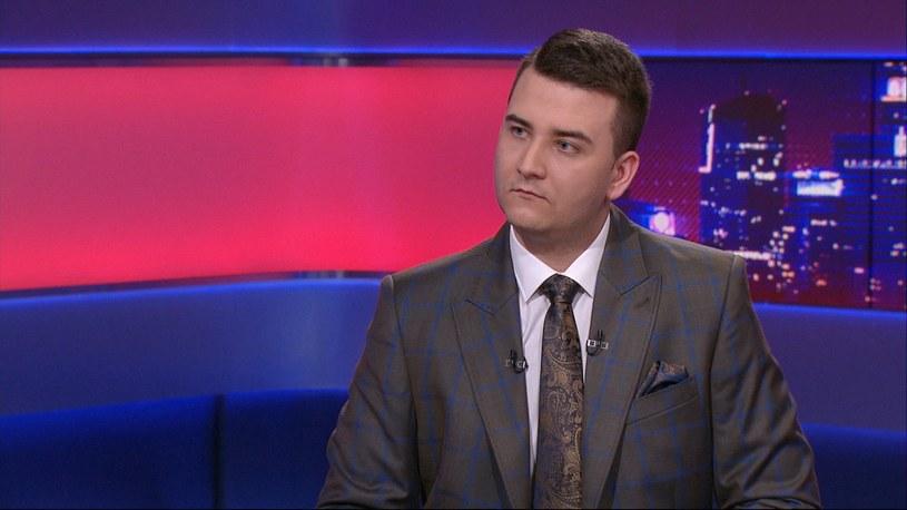 Były rzecznik MON Bartłomiej Misiewicz stanie przed sądem /Polsat News