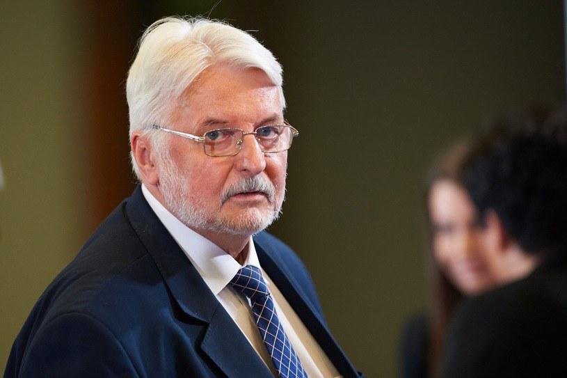 Były szef dyplomacji Witold Waszczykowski /Fot. Lukasz Szelag/REPORTER /East News