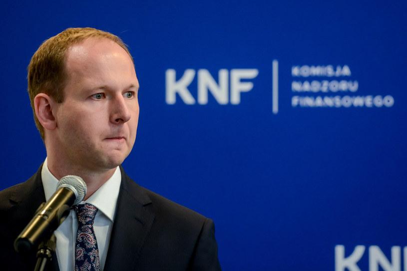 Były szef KNF Marek Chrzanowski /Mariusz Gaczyński /East News