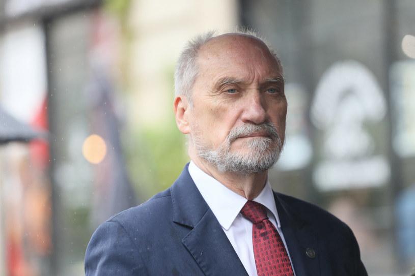 Były szef MON Antoni Macierewicz /Paweł Wodzyński /East News