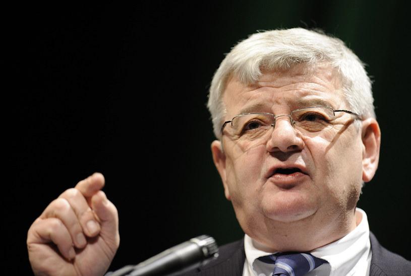 Były szef niemieckiej dyplomacji Joschka Fische /AFP