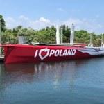 Były szef PFN dumny z jachtu I Love Poland, choć ten od maja stoi w miejscu