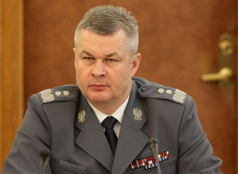 Były szef policji Marek Działoszyński /Stanisław Kowalczuk /East News