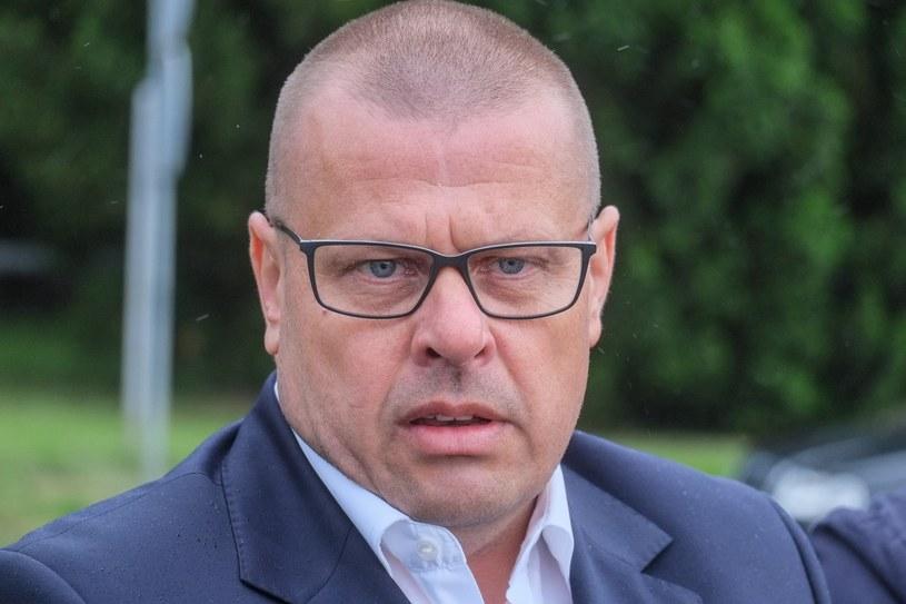 Były szef policji Zbigniew Maj /Jakub Walasek /Reporter