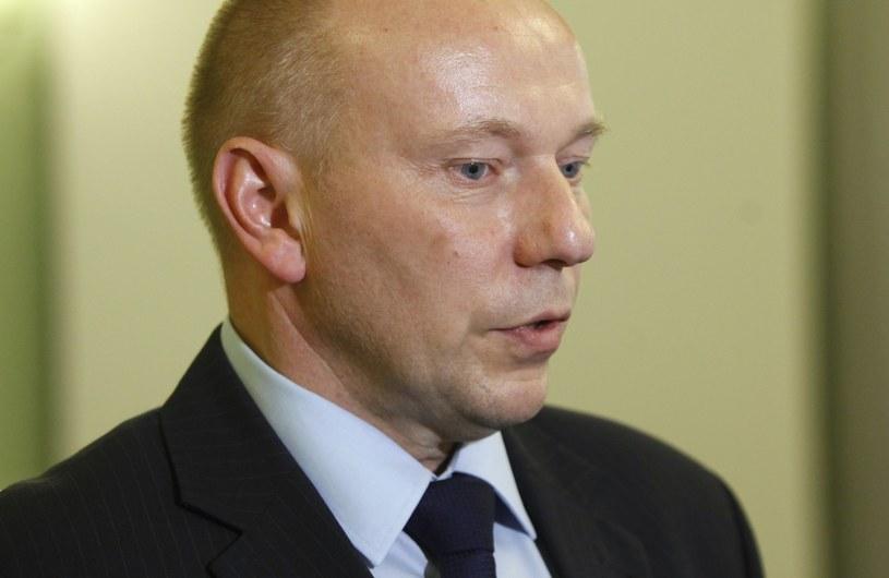 Były szef SKW Piotr Pytel /STEFAN MASZEWSKI/REPORTER /