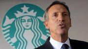 Były szef Starbucksa chce być prezydentem Stanów Zjednoczonych