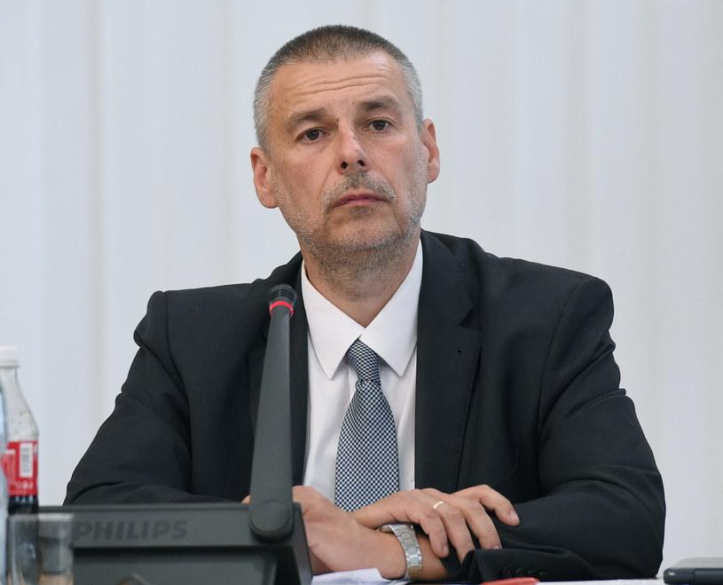 Były szef stołecznego Biura Gospodarki Nieruchomości Marcin Bajko /Radek Pietruszka /PAP