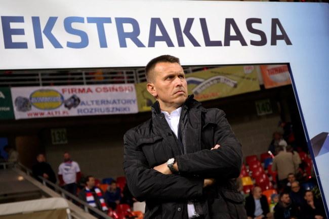Były trener Podbeskidzia Bielsko-Biała Leszek Ojrzyński /Grzegorz Momot /PAP