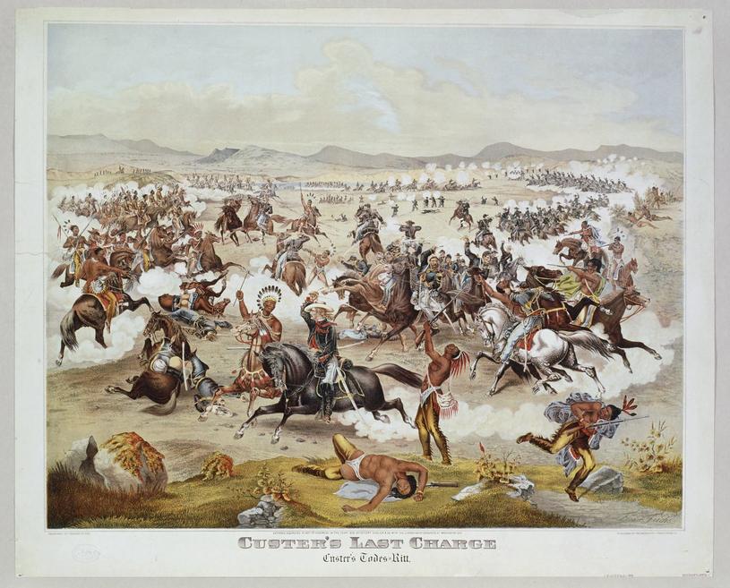 Bywało że półnadzy Indianie kompletnie zaskoczeni ginęli od salw albo pod końskimi kopytami /East News