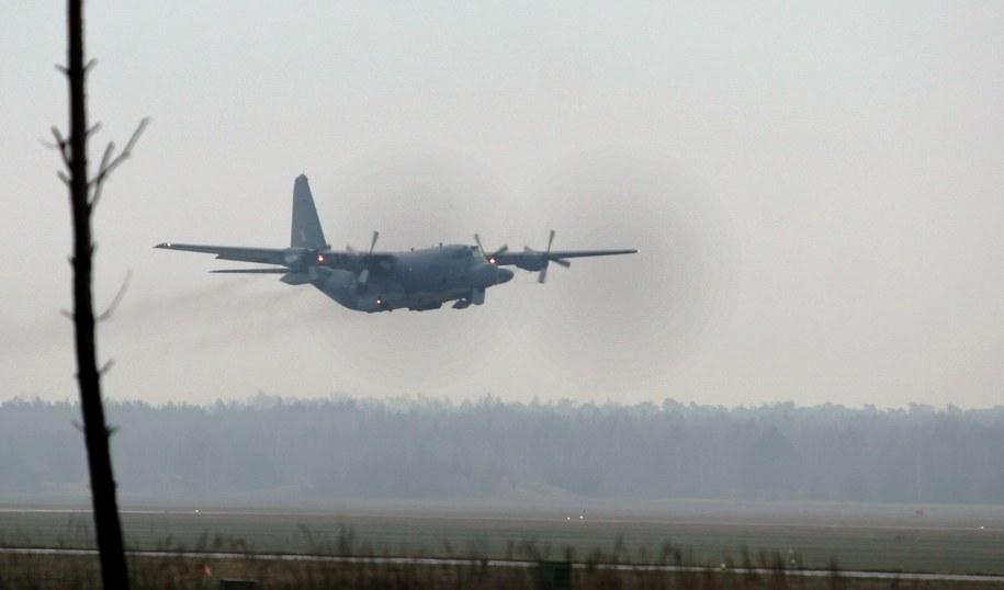 C-130 Herkules (Zdjęcie ilustracyjne) /Bogdan Borowiak  /PAP