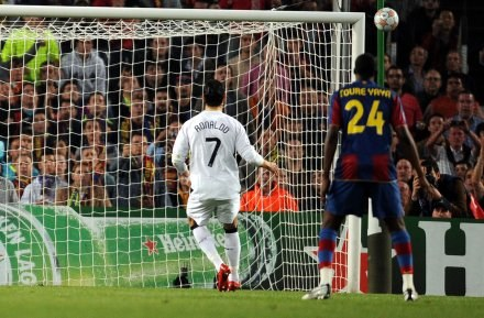 C. Ronaldo nie wykorzystał rzutu karnego /AFP