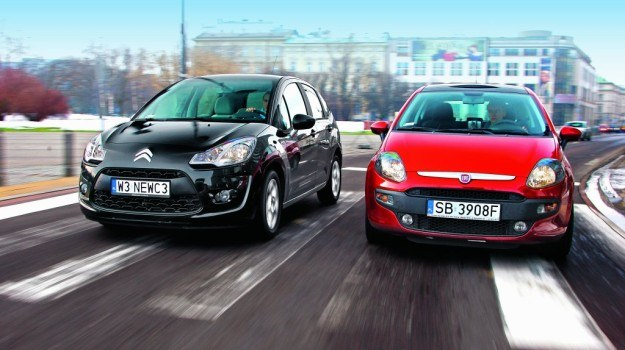 C3 to nowy model, Punto Evo jest rozwinięciem Grande Punto. /Motor