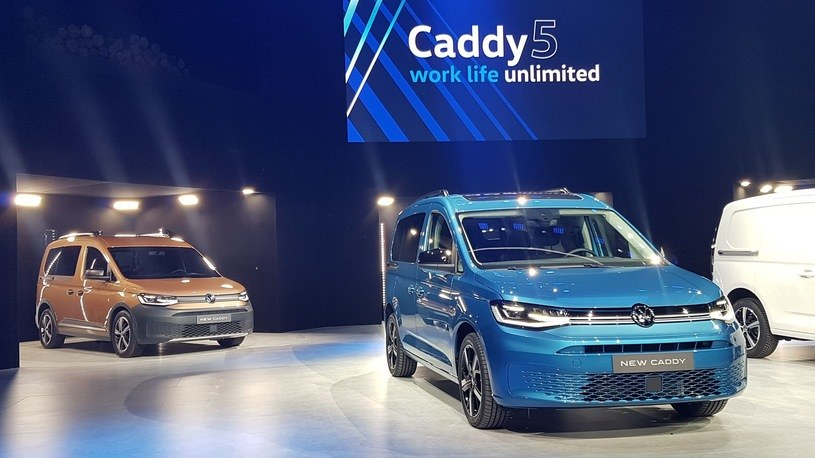 Caddy 5 będzie produkowany w Polsce /