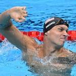 Caeleb Dressel z czwartym złotym medalem w Tokio