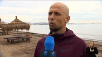 Cafe Futbol. Sebino Plaku-albański łącznik. WIDEO