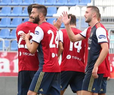 Cagliari - AS Roma 2-2. Gol Walukiewicza w sparingu