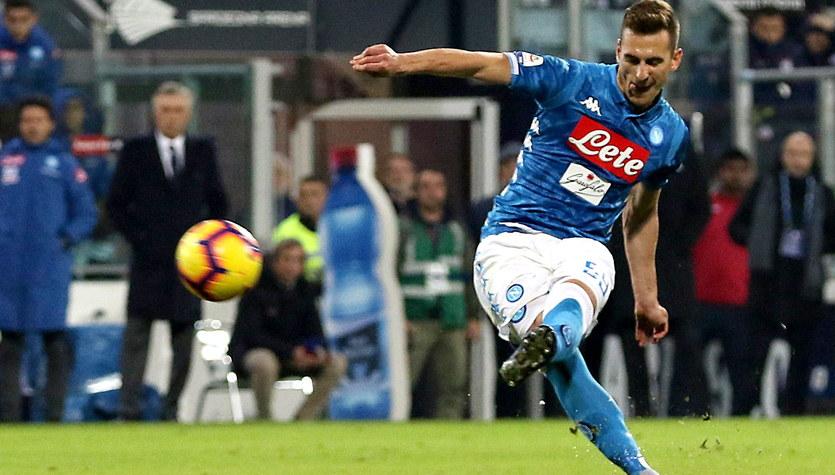 Cagliari - Napoli 0-1. Arkadiusz Milik bohaterem