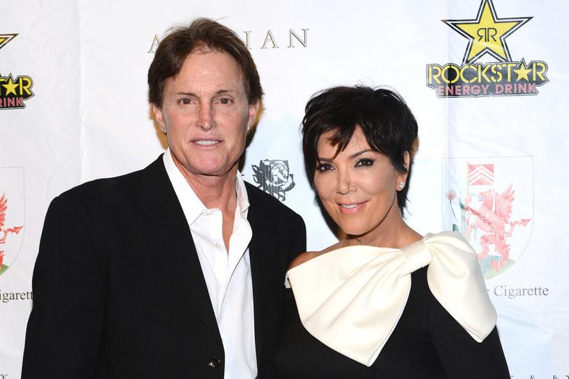 Cailtlyn Jenner (wówczas jeszcze jako Bruce) z Kris Jenner w 2012 roku /Araya Doheny /Getty Images