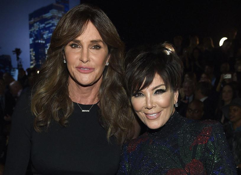 Caitlyn i Kris Jenner /Dimitrios Kambouris /East News