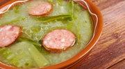 Caldo verde - zielona zupa rodem z Portugalii