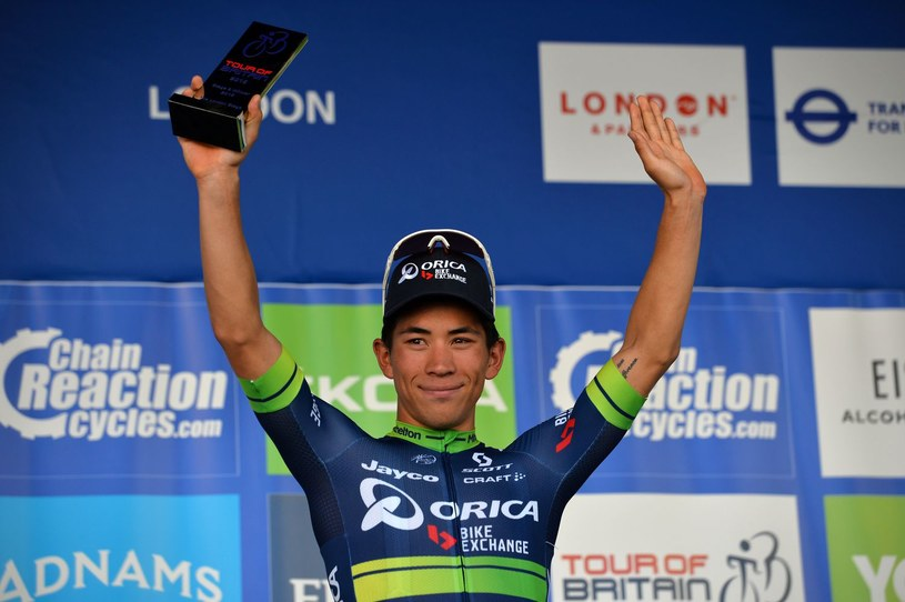 Caleb Ewan triumfował na osttanim etapie /AFP