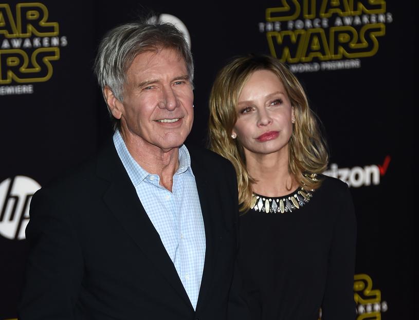 Calista Flockhart i Harrison Ford /Ethan Miller /Getty Images