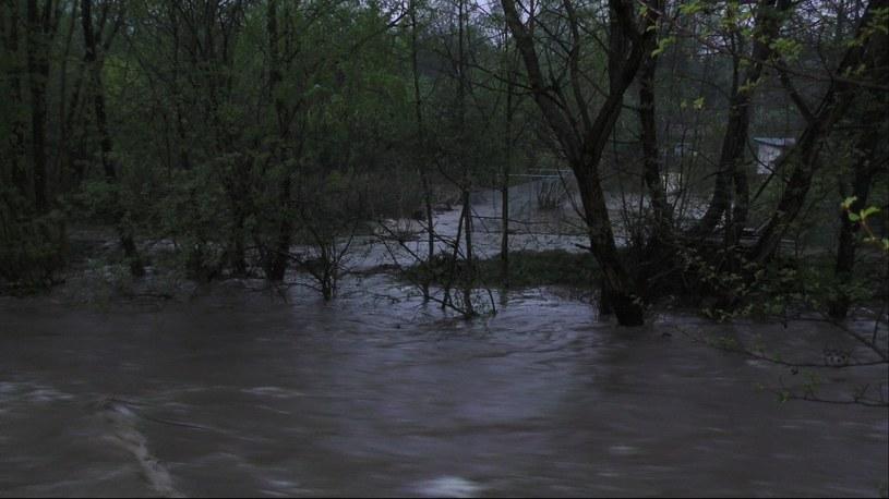 Całkowicie zalane są dwie miejscowości /Polsat News