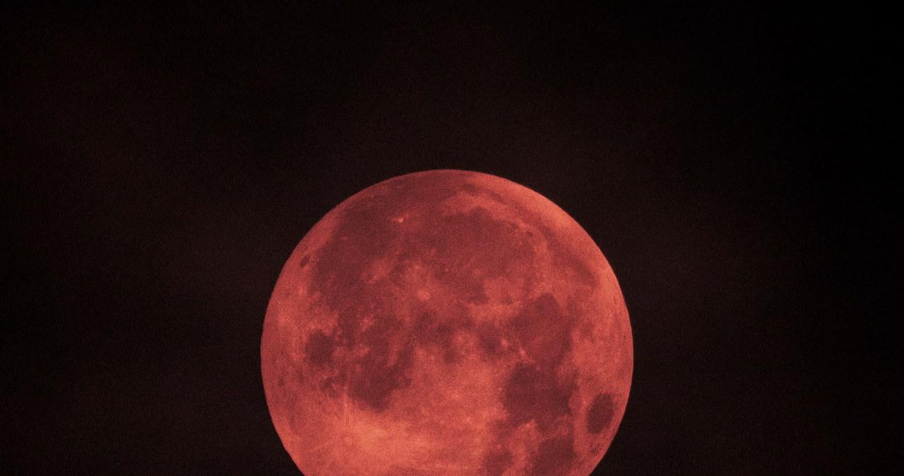 Całkowite zaćmienie Księżyca i superpełnia