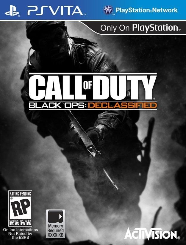 Call of Duty: Black Ops Declassified - przykładowy projekt pudełka /CDA