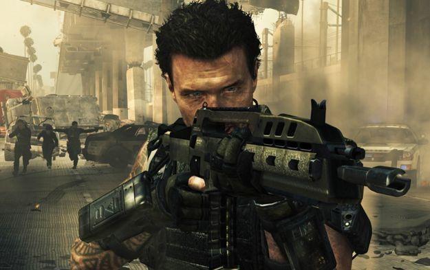 Call of Duty: Black Ops II - motyw graficzny /Informacja prasowa