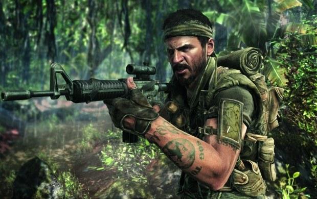 Call of Duty: Black Ops - motyw graficzny /Informacja prasowa