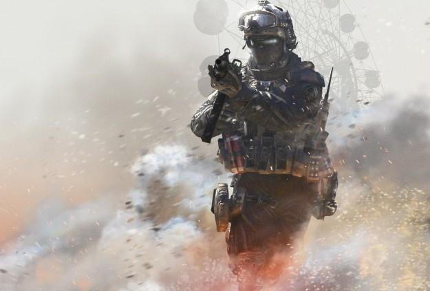 Call of Duty: Modern Warfare 2 - motyw graficzny /Informacja prasowa