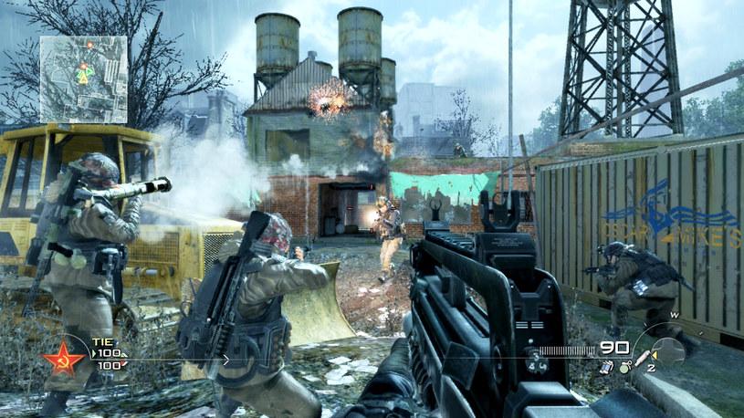 Call of Duty: Modern Warfare 2 z 2009 roku w trybie multiplayer /materiały prasowe