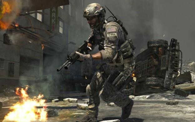 Call of Duty: Modern Warfare 3 - motyw graficzny /Informacja prasowa