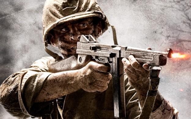 Call of Duty: World at War - motyw graficzny /Informacja prasowa