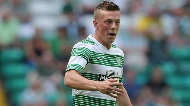 Callum McGregor dał prowadzenie Celticowi. /AFP