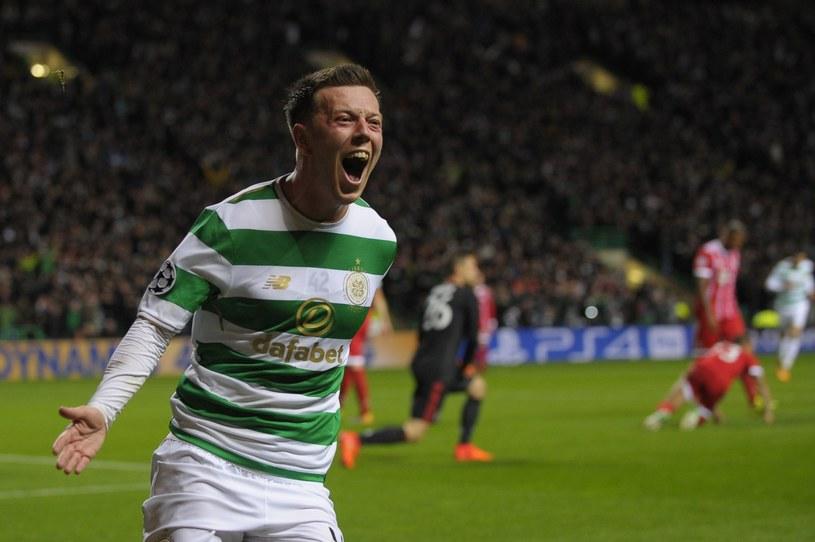 Callum McGregor z Celticu Glasgow /AFP