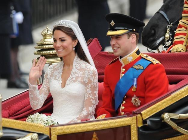 Cały świat oglądał ślub księcia Williama /Getty Images/Flash Press Media