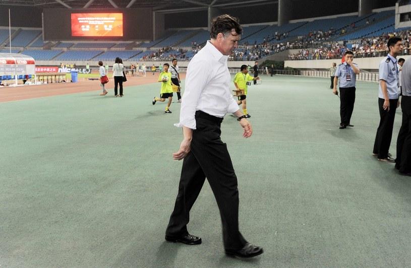 Camacho w roli selekcjonera repreznetacji Chin /AFP