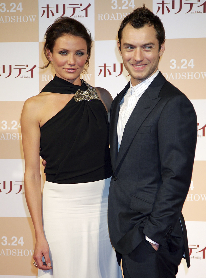 Cameron Diaz i Jude Law w 2006 roku /Getty Images