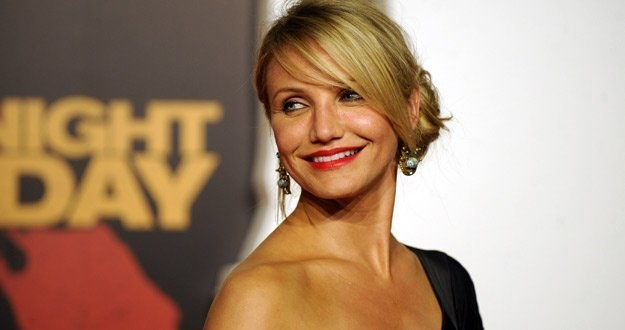 Cameron Diaz po prostu kocha, to co robi /AFP