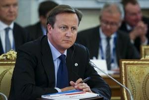 Cameron: Londyn ma nowe dowody na użycie broni chemicznej w Syrii