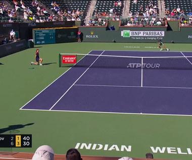 Cameron Norrie awansował do finału Indian Wells wygrywając z Grigorem Dimitrovem.