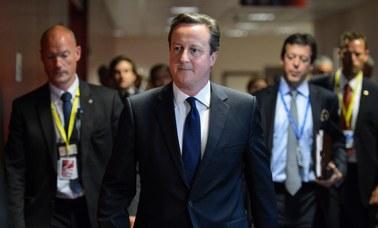 Cameron o Sikorskim: Nie akceptuję tego, co powiedział