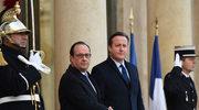 Cameron: Popieram zapoczątkowane przez Hollande'a naloty w Syrii