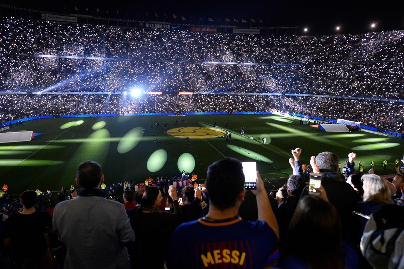 Camp Nou w Barcelonie /AFP