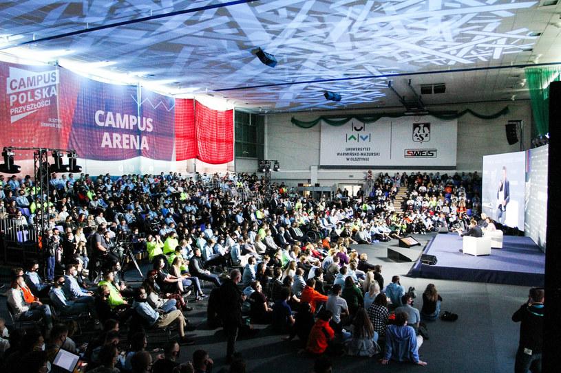 Campus Polska Przyszłości /Artur Szczepanski/REPORTER /East News
