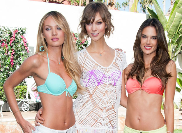 Candice Swanepoel, Karlie Kloss i Alessandra Ambrosio /Getty Images/Flash Press Media